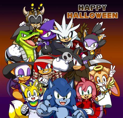 Imagenes De Halloween Sonic | sonic halloween by tee j on deviantart