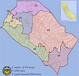 congressional district map california district maps indivisible ca39