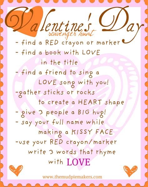 valentines day scavenger hunt clues hunt for s day quotes