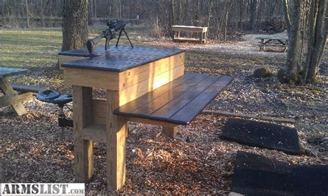 shooting benches for sale armslist for sale custom shooting bench