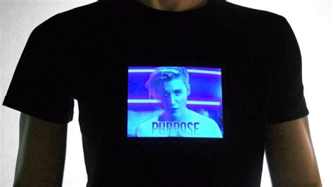 light up t shirt justin bieber light up t shirt