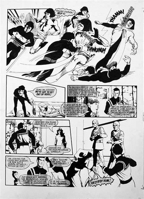 Logan's Run 4 from Look In by Arthur Ranson at the