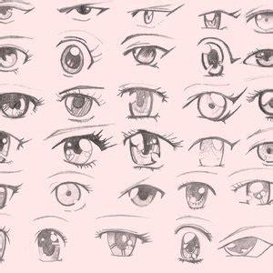 imagenes ojos anime ojos de anime por jhonl22 dibujando
