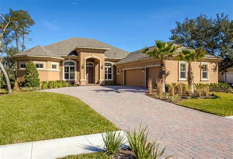florida home builders semi custom home floor plans north florida home builders