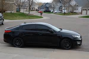 Blacked Out Kia Optima Should I Powder Coat My Wheels Black