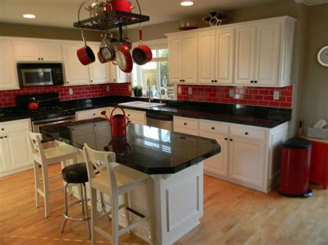 kitchen cabinets red and white best 25 red kitchen accents ideas on pinterest red