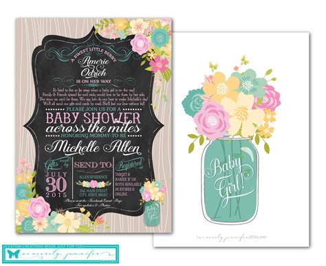 Distance Baby Shower Invitations by Distance Baby Shower Invitation Event Banner