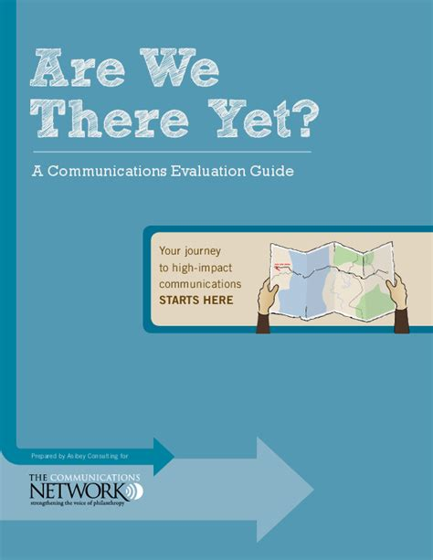 we communications are we there yet a communications evaluation guide issuelab