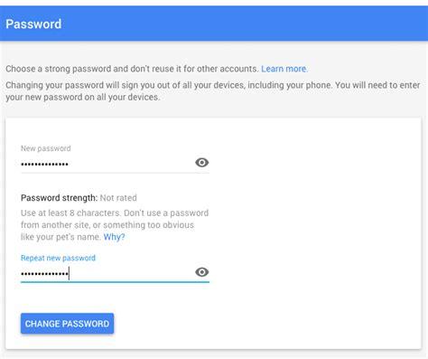 gmail password reset link generator how to change your gmail password 5 steps w screenshots