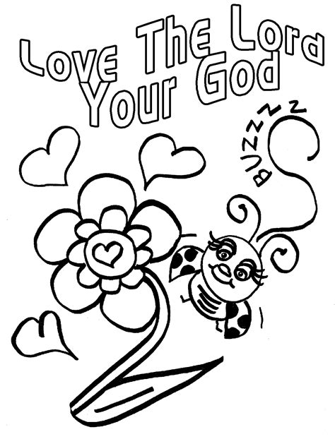 love god bible coloring pages coloring pages