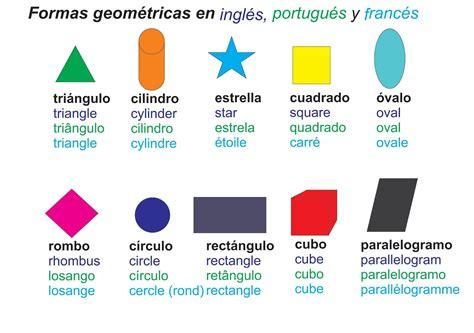 figuras geometricas basicas en ingles figuras de geometricas en ingles pronunciacion pictures to
