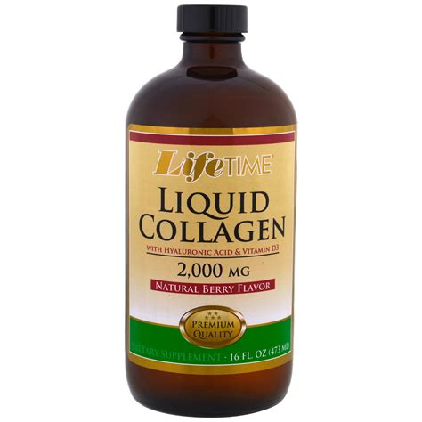 Berry Collagen time liquid collagen with hyaluronic acid vitamin