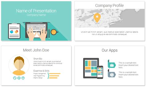 computer template for powerpoint computer powerpoint template presentationdeck