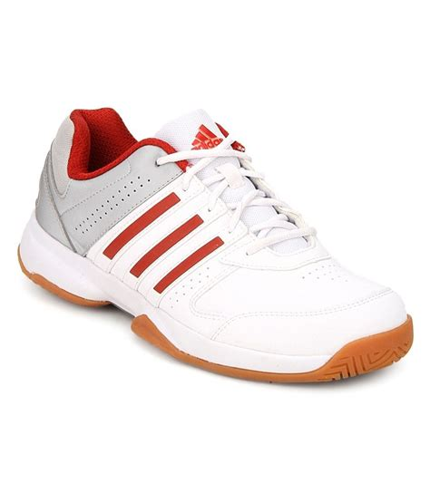 adidas badminton adidas white badminton sports shoes buy adidas white