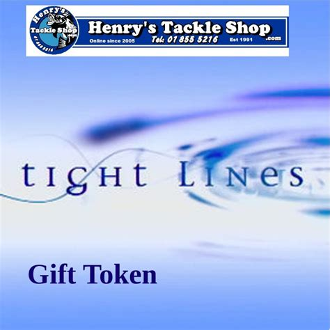 Henrys Gift Card - henrys tackle shop gift voucher online