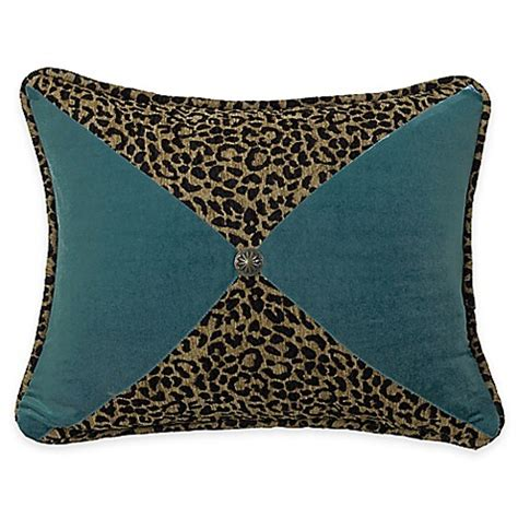 bed bath and beyond san angelo buy hiend accents san angelo leopard and teal sectioned