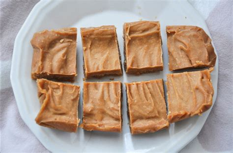 What Is The Shelf Of Fudge by Easy Peanut Butter Freezer Fudge Using 5 Ingredients