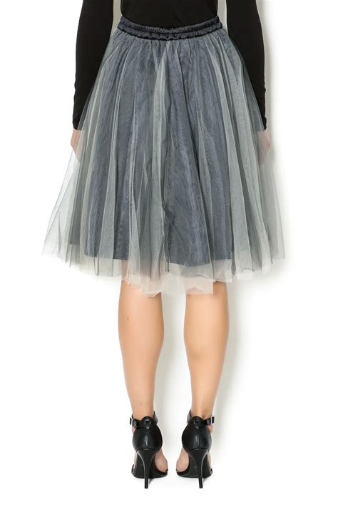 layered skirt comme toi layered tulle skirt from new jersey by