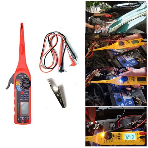 Automotive Multimeter multi function auto circuit tester multimeter l 3 in 1