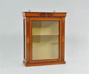 Display Cabinet Wall Mounted A French Directoire Wall Mount Display Cabinet 09 11 09