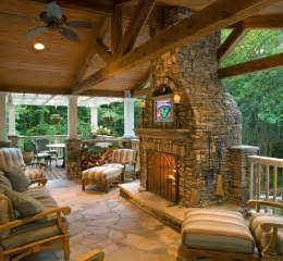 pictures for signature roofing and construction in - Outdoor Room With Fireplace