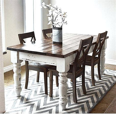 Build Your Own Rustic Dining Diy Rustic Dining Table Thelt Co