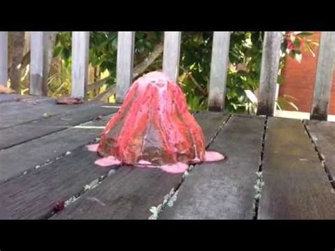 How To Make A Paper Volcano That Erupts - how to make an erupting paper m 226 ch 233 volcano