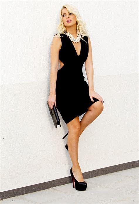 beautiful short elegant black dresses