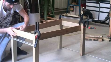 How To Build A Wooden Coffee Table S Scustoms Woodwork Build A Coffee Table Using Scrap Wood Part 1 Legs