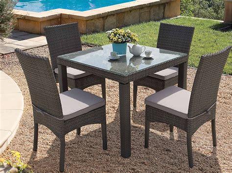tavolo e sedie in rattan offerte tavoli da giardino in rattan mobilia la tua casa
