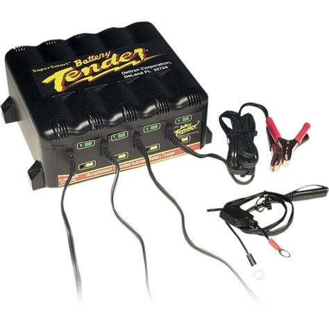 4 bank charger battery tender 4 bank trickle charger system 1 25a ebay