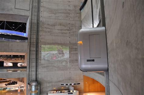 mercedes museum elevator a vil 225 g 12 legl 225 tv 225 nyosabb liftje urbanista