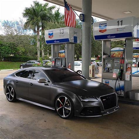 matt black audi rs7 on matte black audi rs7 thirsty for gas owner rs svn
