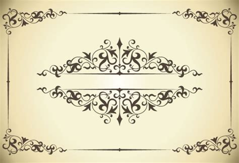 eps format border design free download classic pattern border 04 vector free vector in