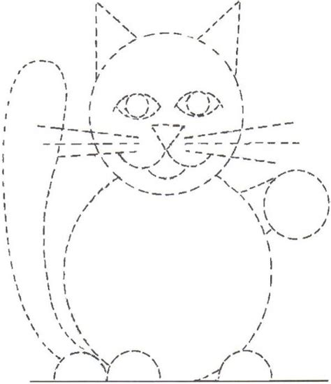 dibujos para pintar con x fichas con trazos para repasar y pintar