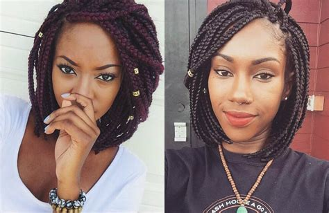 Hairstyles For Black Hair With Braids Bob by Braids Bob Hairstyles For Black Blackhairlab