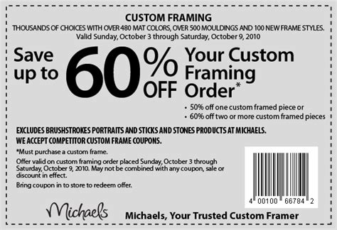 Amazing Michaels Arts And Crafts Coupons 40 Off 4 Coupon