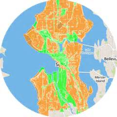 Seattle Zoning Map by Map Legal Cannabis By Center For Legal Cannabis