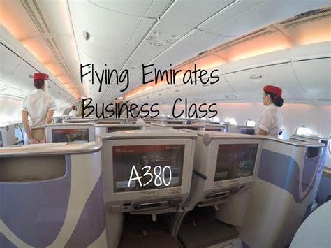 business class cabin emirates flying emirates business class on the a380