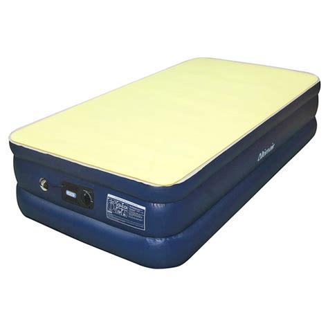 Best Air Mattress For Home by Airtek Size Flocked Top Air Mattress With Memory Foam Mattress Topper Overstock Shopping