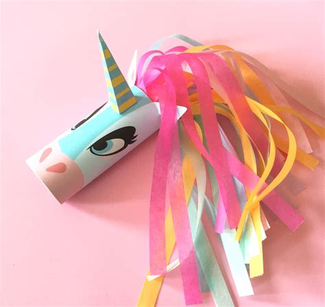 how to make crafts unicorn toilet printable