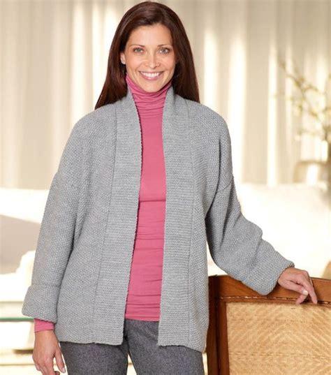 knitting pattern kimono sweater loom knit kimono jacket knit with jo ann pinterest