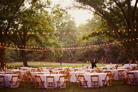 12 ideas for the best outdoor wedding