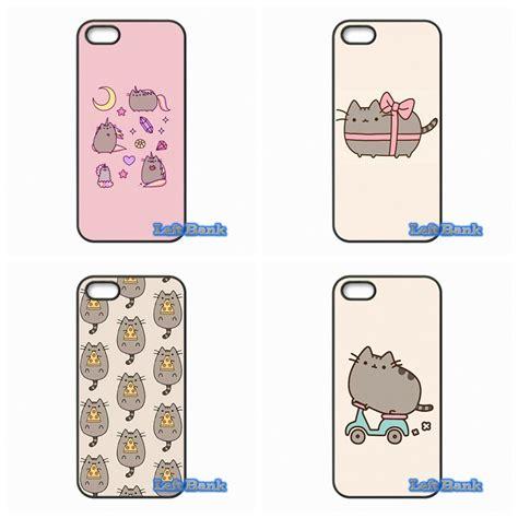 Casing Samsung A3 2017 Pusheen Cat Custom aliexpress buy pusheen cat pattern phone cases cover for samsung galaxy 2015 2016 j1 j2 j3