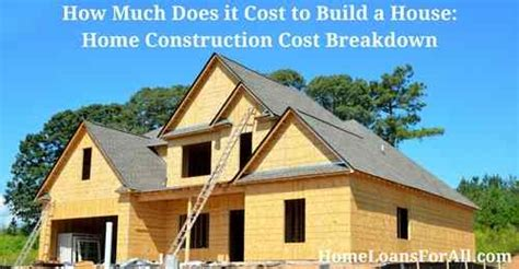 how much does is cost to build a house shop and compare mortgage rates and mortgage lenders