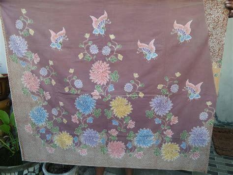 Kain Batik Tulis Lasem Motif Bunga batik tulis motif bunga dengan berbagai tehnik canting