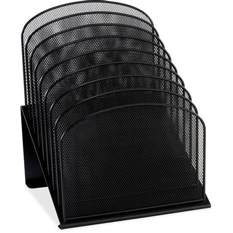 wire mesh desk organizer safco onyx wire mesh desktop organizer