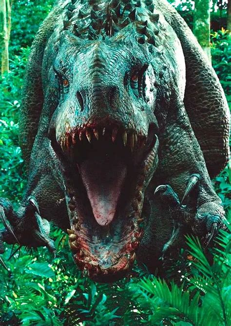 nuevas imagenes jurassic world el indominus rex se muestra en todo su esplendor en la