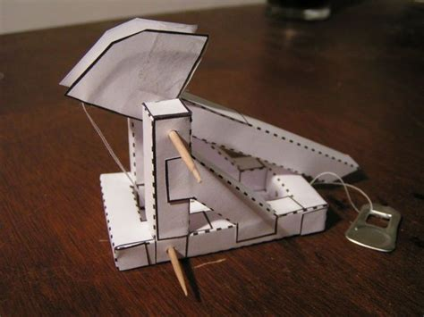 How To Make A Paper Trebuchet - 10 terrific trebuchets make diy projects and ideas for