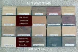 minwax stain colors on pine stains colors and minwax stain on